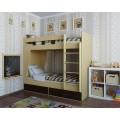 Dviaukštė lova ALBA