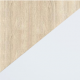 Šviesus ąžuolas/Balta matinė